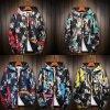oblečenie - pánske zimné bundy - pánska obojstranná vzorovaná bunda - nadmerné veľkosti - výpredaj skladu