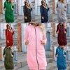 Dámske oblečenie - mikina - dámska dlhá mikina na zips - dámske mikiny - mikinové šaty - výpredaj skladu
