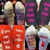 Ponožky - veselé ponožky -ponožky s vtipnými nápismi vhodný ako darček - vianočný darček - výpredaj skladu