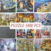 Puzzle - puzzle s rôznymi obrázkami 1000ks - puzzle jigsaw - vianočný darček darček dárek gift gift
