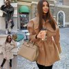 Dámske oblečenie - kabát - dámsky zimný krátky kabát na zaväzovanie - dámsky zimný kabát - jarné bundy