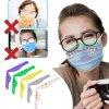 Rúška - spona na rúško proti zahmlievaniu na okuliare - rúška - nosenie rúšok