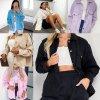 Dámske oblečenie - bunda - dámska módna ľahká zimná bunda s vreckami - dámske zimné bundy - jarné bundy