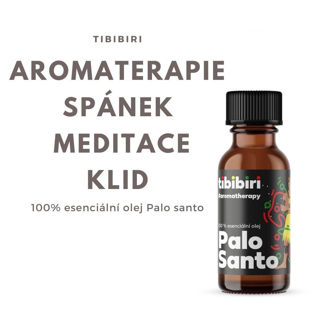 Aromaterapie se 100 % esenciálním olejem Palo Santo