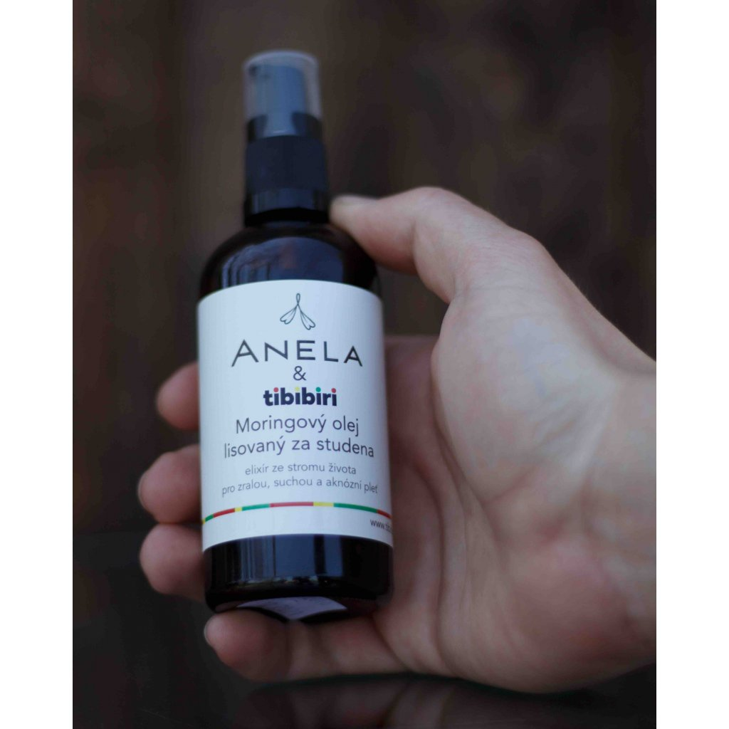 Moringa olej 30 ml Tibibiri