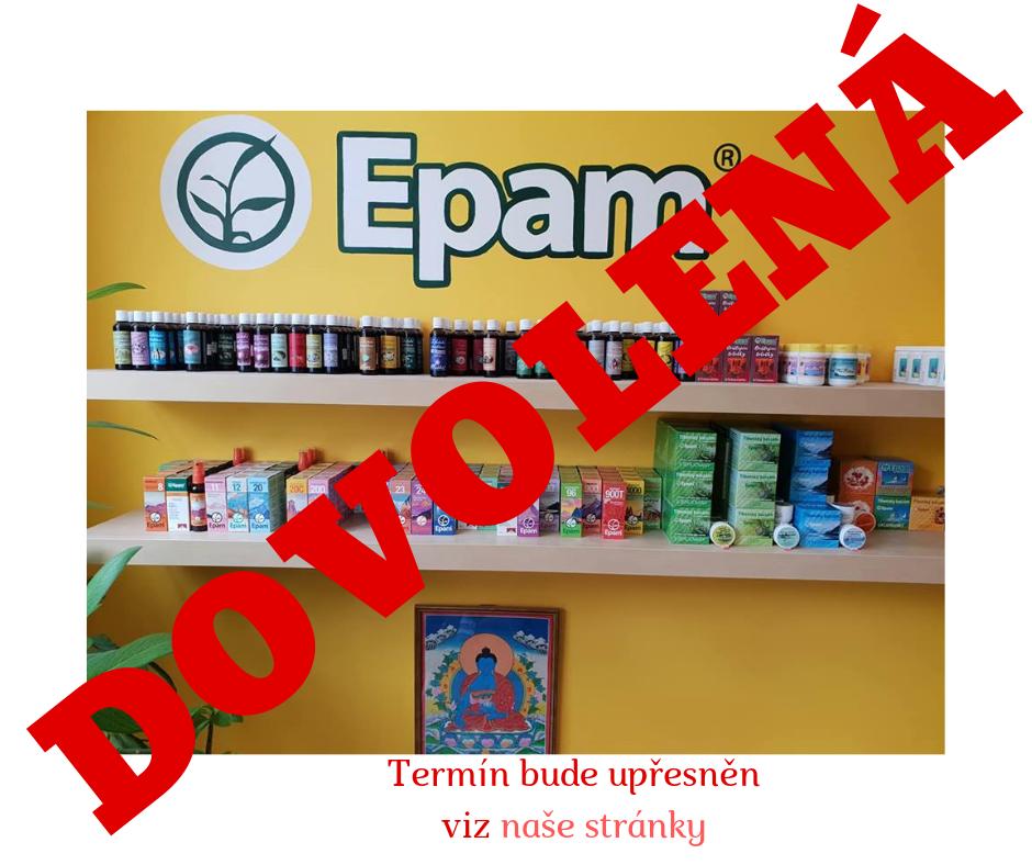 Dovolená - uzavření prodejny