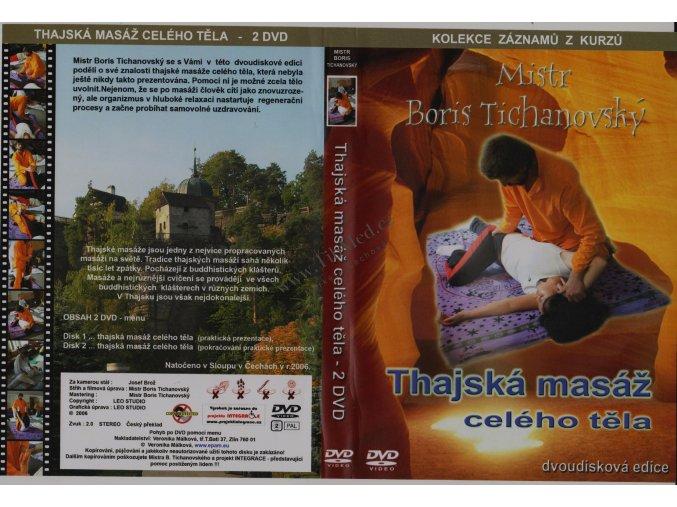 DVD Thajská masáž