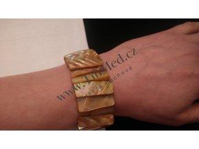 Náramek - různé druhy kamenů a tvarů