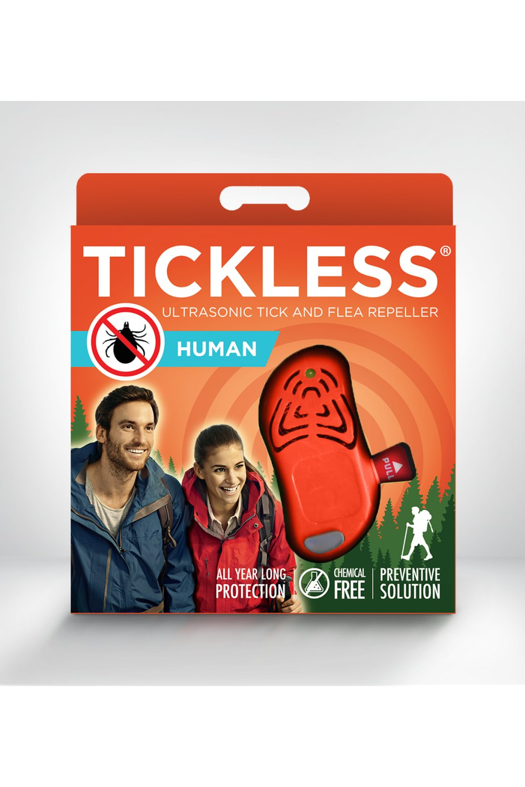 TICKLESS HUMAN ORANGE