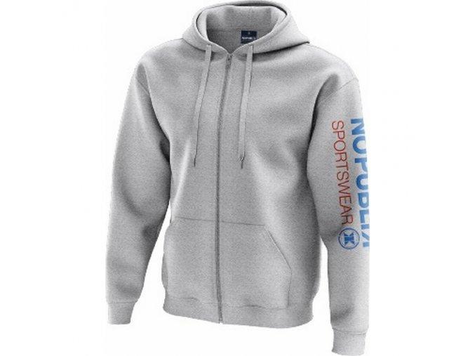Mikina No Publik Sportswear Hood Grey