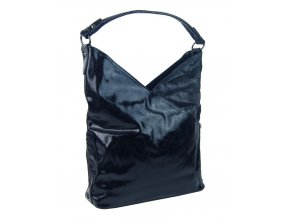 Moderná dámska kabelka cez plece 5140-BB tmavo modrá