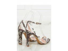 Sandále na opätkoch model 128081 Inello