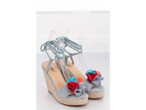 Sandále na opätkoch model 128362 Inello