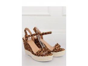 Sandále na opätkoch model 131056 Inello