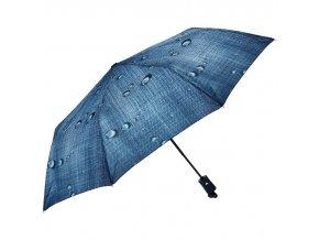 J.S ONDO Automatický dáždnik stredne modrý