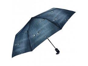 J.S ONDO Automatický dáždnik tmavo modrý