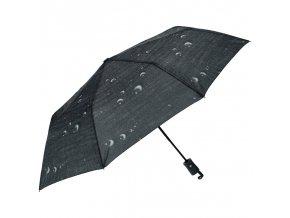 J.S ONDO Automatický dáždnik čierny