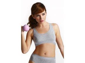 Fitness top Sierra grey