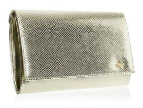 Luxusná dámska zlatá listová kabelka SP100 GROSSO
