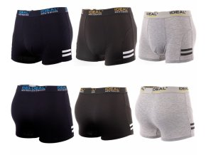 Ideal Boxers 3 Pack Mens