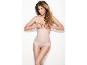Sťahovacie prádlo Mitex body string glam różowy S