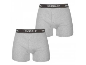 Pánske Boxerky Lonsdale 2 Pack