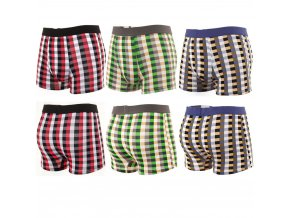Ideal Boxers Happy Home 3 Pack Mens