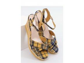 Sandále na opätkoch model 153851 Inello