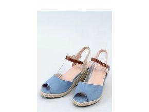 Sandále na opätkoch model 153907 Inello