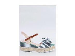 Sandále na opätkoch model 153910 Inello