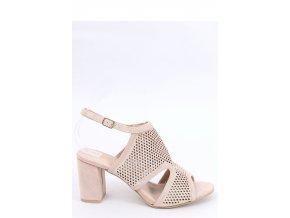 Sandále na opätkoch model 154009 Inello