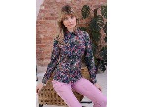 Tričko s dlhým rukávom model 154270 Eteria Colour Mist