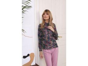 Tričko s dlhým rukávom model 154302 Eteria Colour Mist