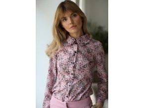 Tričko s dlhým rukávom model 154305 Eteria Colour Mist