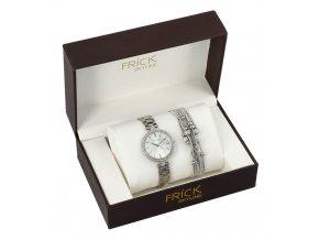SKYLINE dámska darčeková sada strieborné hodinky s náramkom R2011