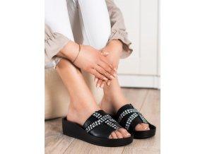 Luxusné dámske šľapky