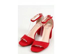 Sandále na opätkoch model 155669 Inello