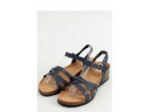 Sandále na opätkoch model 156307 Inello