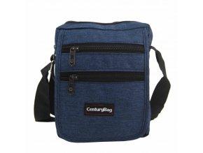 Modrá pánska crossbody taška 18x20x7 cm CenturyBag 2920