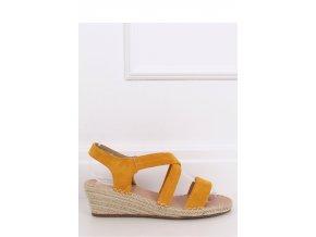 Sandále na opätkoch model 144787 Inello
