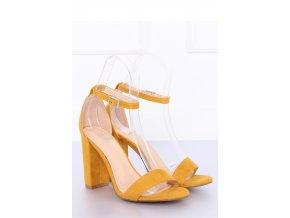 Sandále na opätkoch model 127239 Inello