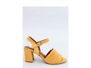 Sandále na opätkoch model 154012 Inello