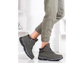 Moderné dámske trekingové topánky
