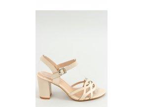Sandále na opätkoch model 155673 Inello
