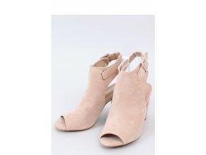 Sandále na opätkoch model 153954 Inello