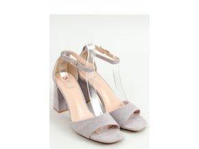 Sandále na opätkoch model 155666 Inello