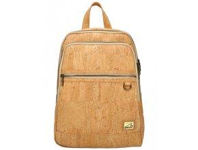 SIMARO Luxusný batoh z pravého portugalského korku 2075 prírodný