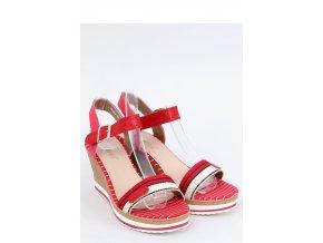 Sandále na opätkoch model 153897 Inello