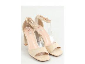 Sandále na opätkoch model 155667 Inello