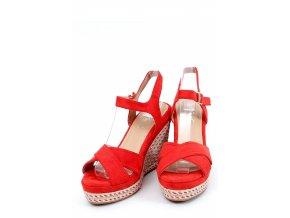 Sandále na opätkoch model 153931 Inello
